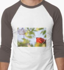 Make your own Cardinal rules and learn from them. Men's Baseball ¾ T-Shirt