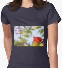 Make your own Cardinal rules and learn from them. Womens Fitted T-Shirt