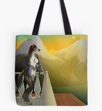 Always Remembering under the Morning Star Tote Bag