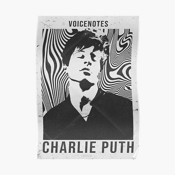 Charlie Puth   Retro Poster