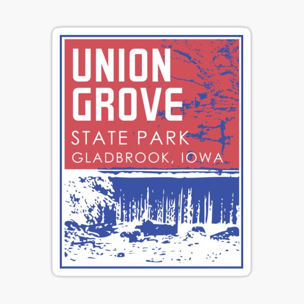 Union Grove State Park Sticker