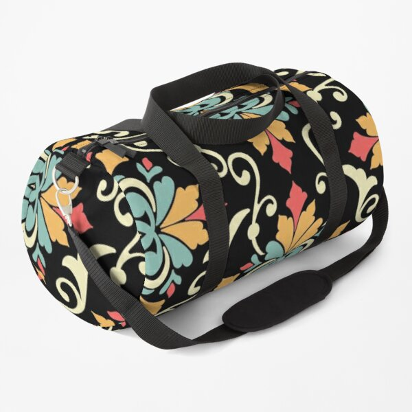 Floral seamless arabesque pattern Duffle Bag