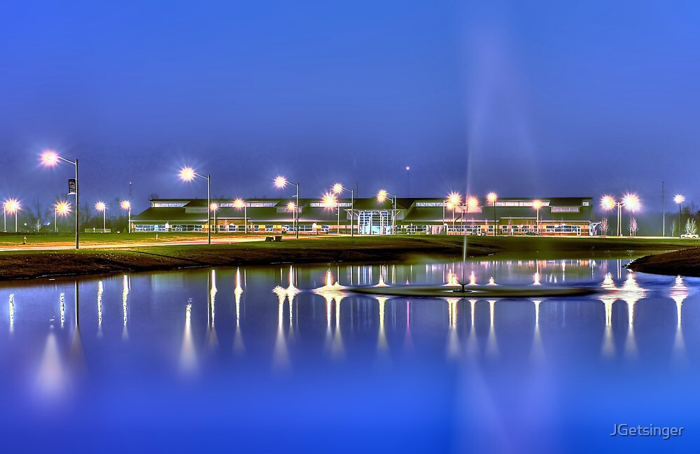 Night Campus by JGetsinger