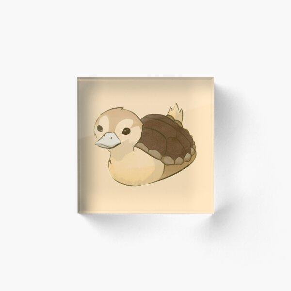 Avatar Turtle Duck Acrylic Block