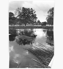 The Wind-swept River Trent at Stapenhill Poster