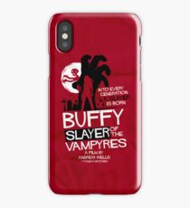 Slayer of the Vampyres iPhone X Case