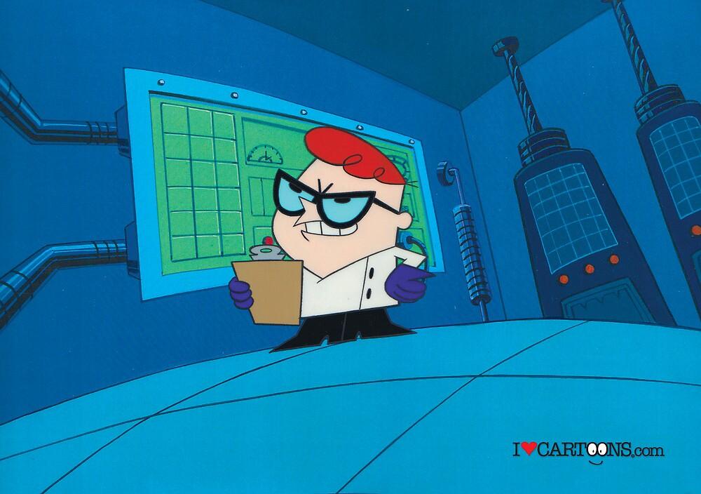 Dexter - Dexter's Laboratory (Production Cel) by Sebastian Sindermann