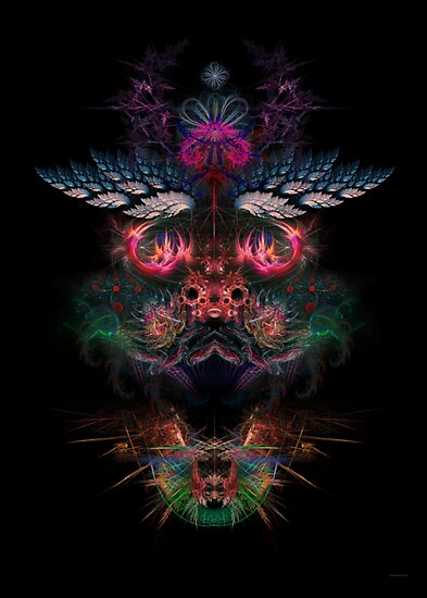 "Metaface ""Dragon"" - RGB (special) by Alienjedna"