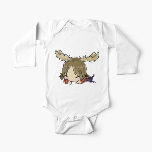 Supernatural: Moose Nap Long Sleeve Baby One-Piece