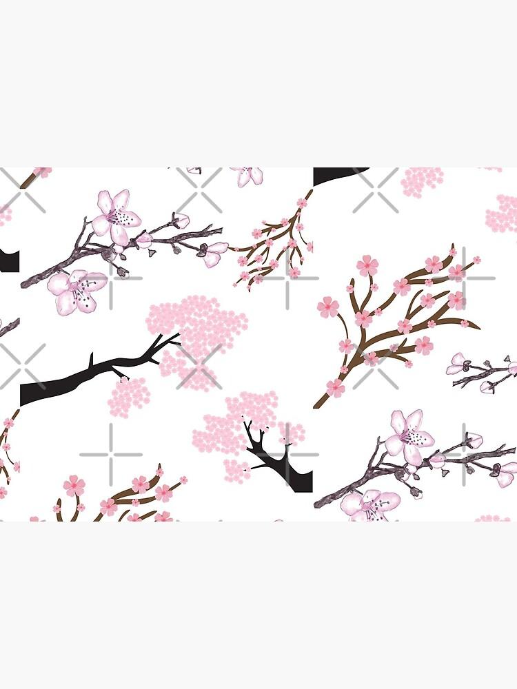 Flores de cerezo de ItsNikkiArts