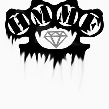Haters Made Me Famous - Brass Knuckle Drip by thompson9290