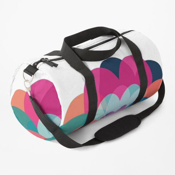 Flower Heart Duffle Bag