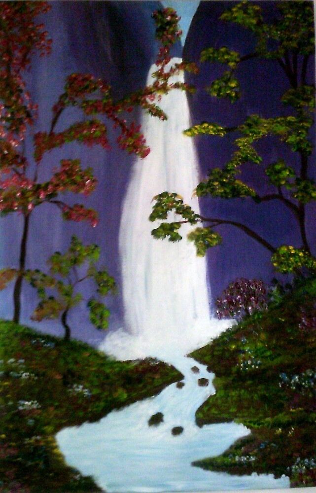 waterfall by christine7