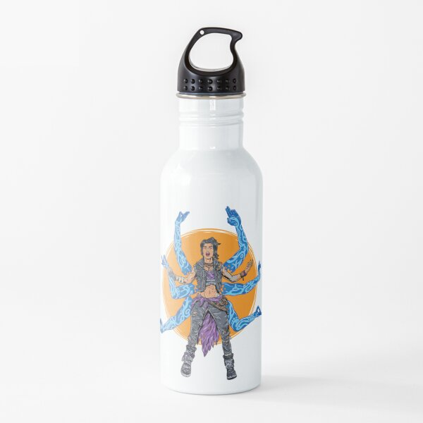 Amara The Siren Borderlands 3 The Tiger of Partali Water Bottle