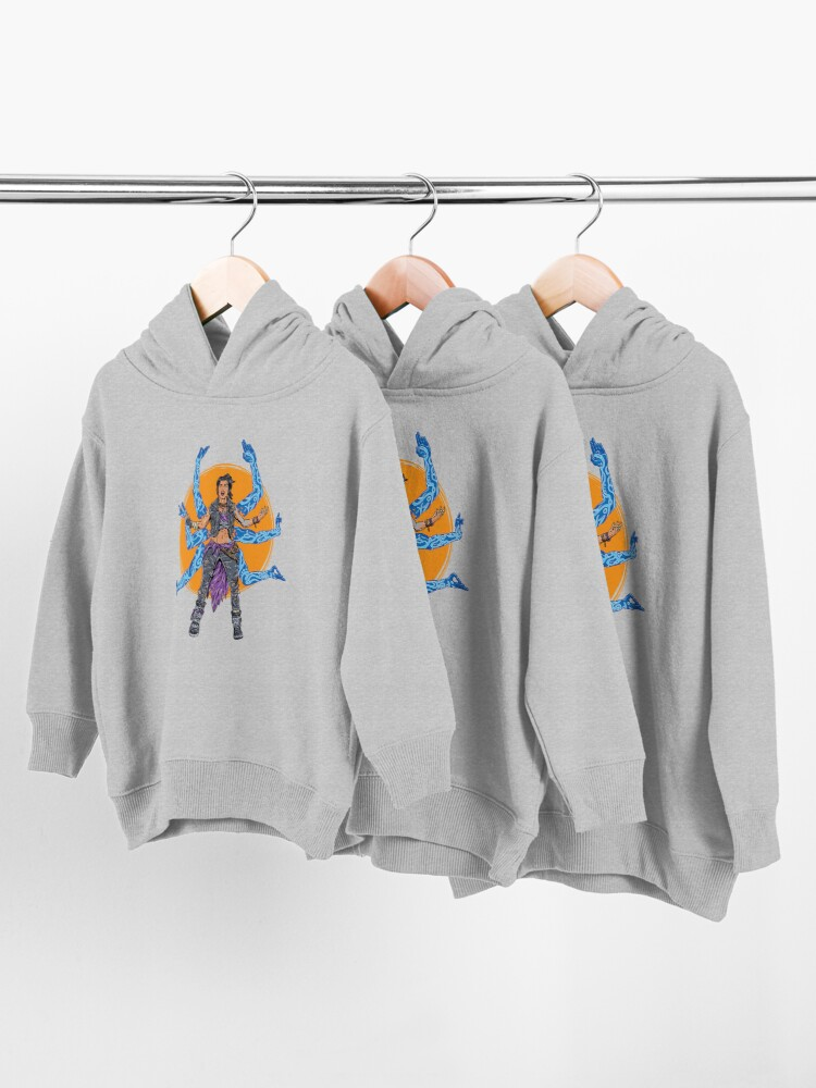 Alternate view of Amara The Siren Borderlands 3 The Tiger of Partali Toddler Pullover Hoodie
