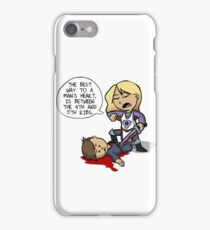 OWE - Through the Heart iPhone Case/Skin