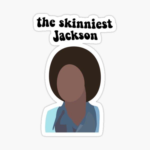 el Jackson más flaco Pegatina