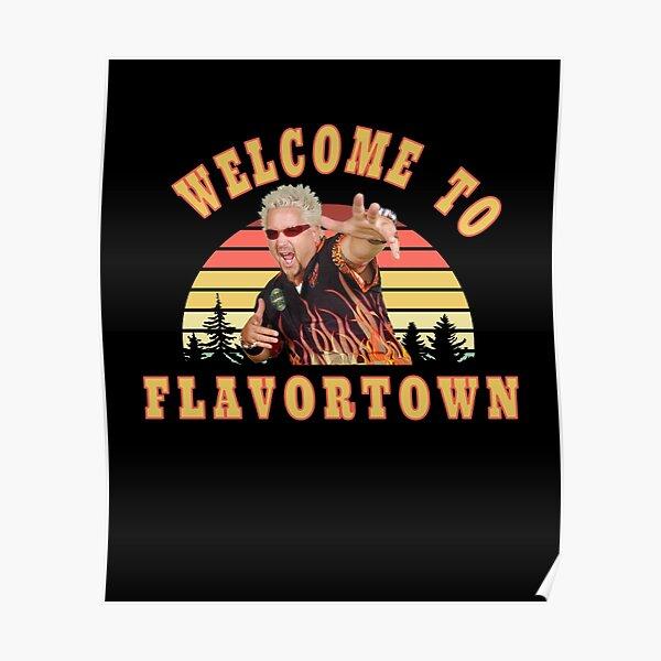 New Guy Fieri Fans Flavortown  Poster