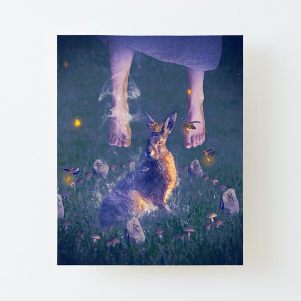 Conjuring Familiar Canvas Mounted Print