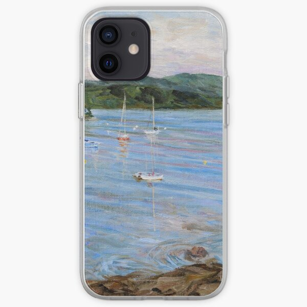 Village Bay Morning  iPhone Soft Case