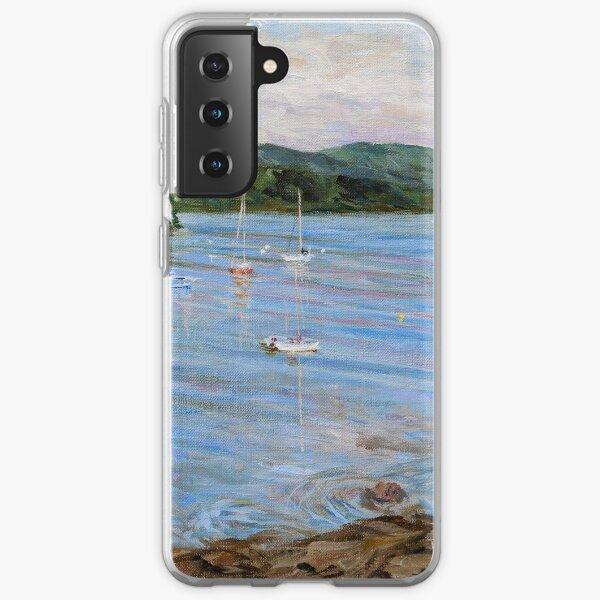 Village Bay Morning  Samsung Galaxy Soft Case