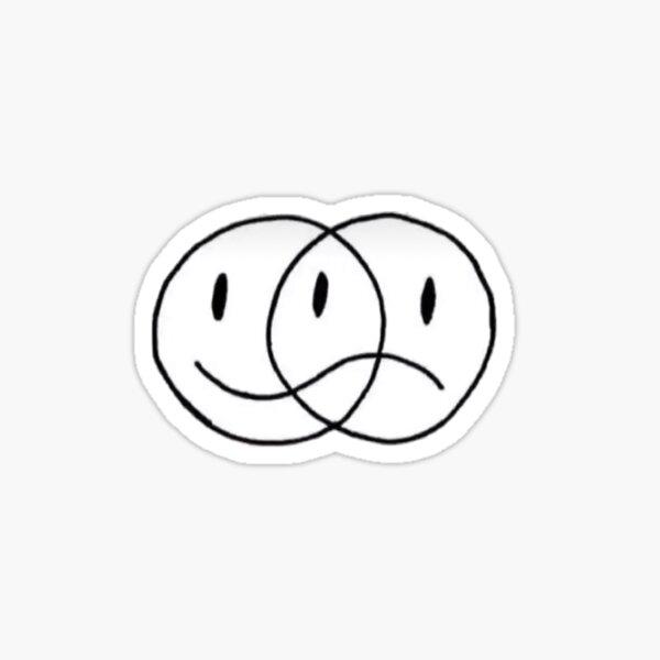 happy sad Sticker