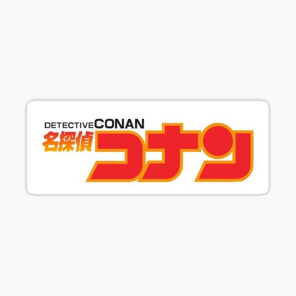 Détective Conan Logo Sticker