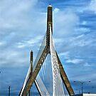 Zakim Bunker Hill Bridge by d1373l