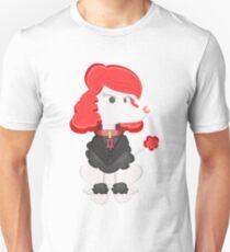Poodle Black Widow by Centtaro Unisex T-Shirt