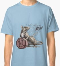 Chinese Zodiac - Year of the Rat Classic T-Shirt