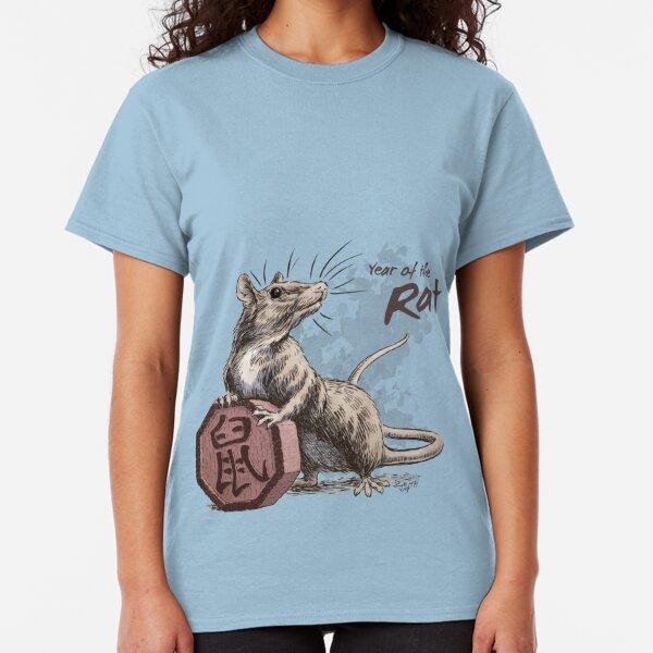 Chinese Zodiac - Year of the Rat Classic T-Shirt