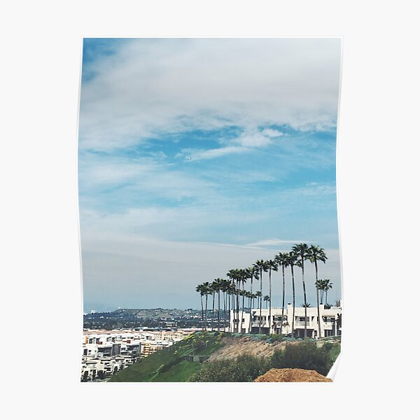 LA View from LMU Poster