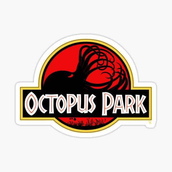 Octopus Park Sticker