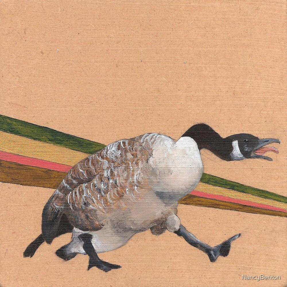 Canadian Goose by NancyBenton