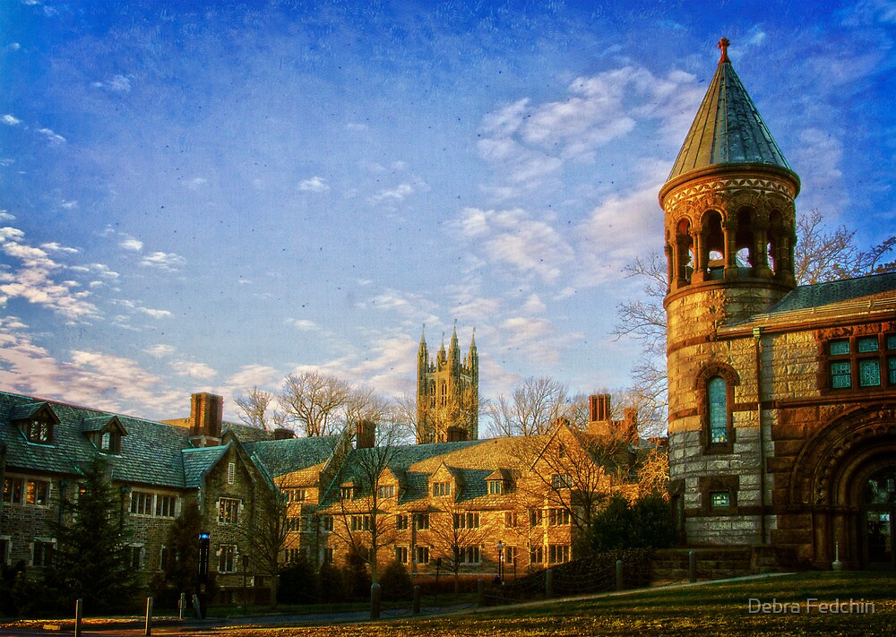Princeton University Campus by Debra Fedchin
