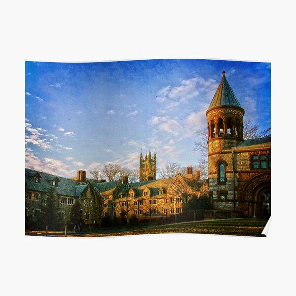 Princeton University Campus Poster