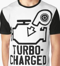 Turbocharged check engine light Graphic T-Shirt