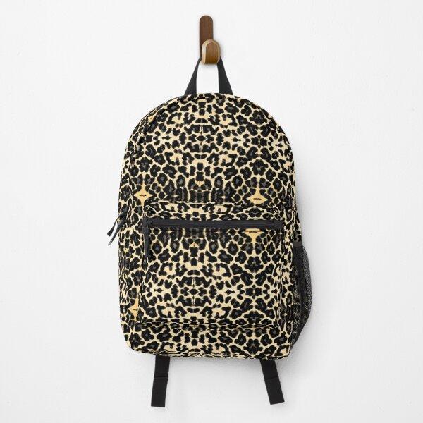Tiger Animal Print Faux Skin Backpack