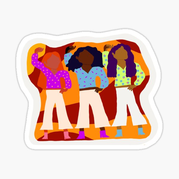 ONETrack International and BLM Sticker Sticker