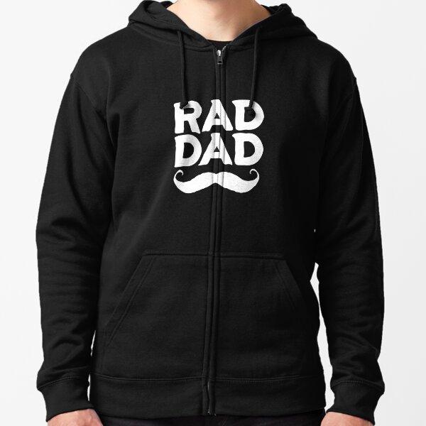 Rad Dad #3 Zipped Hoodie