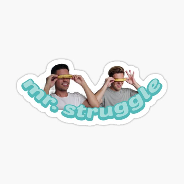 mr. struggle (Cody & Noel) Sticker