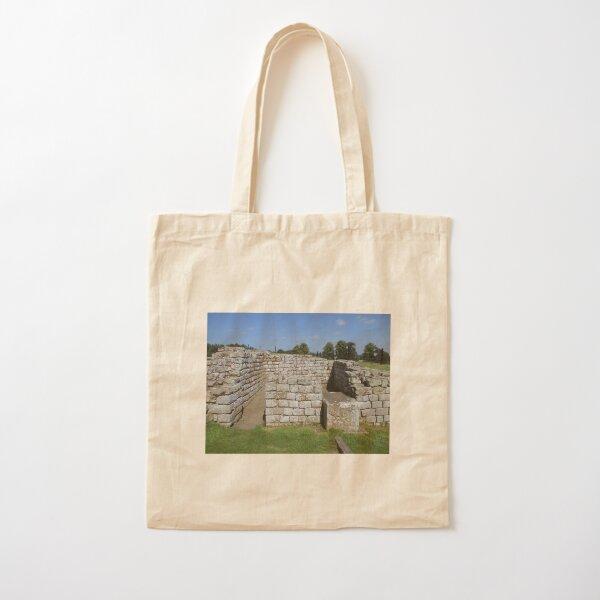 Merch #86 -- Rocks And Bricks - Shot 8 (Hadrian's Wall) Cotton Tote Bag