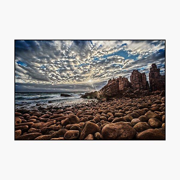 The pinnacles Phillip Island Photographic Print