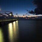 Wellington Point Jetty by Steve Bass