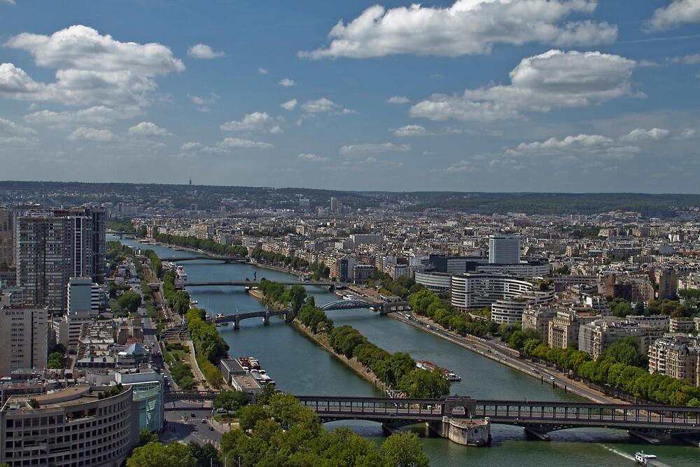 Paris on the Seine by GW-FotoWerx
