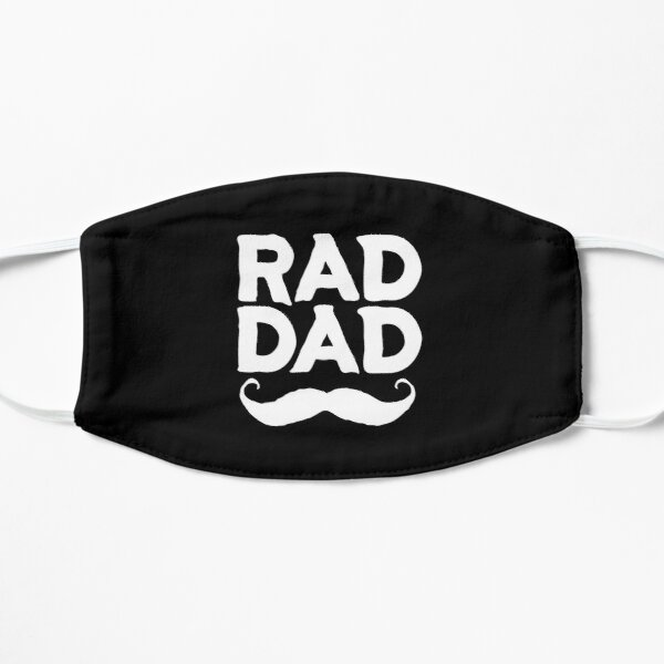 Rad Dad #6 Flat Mask