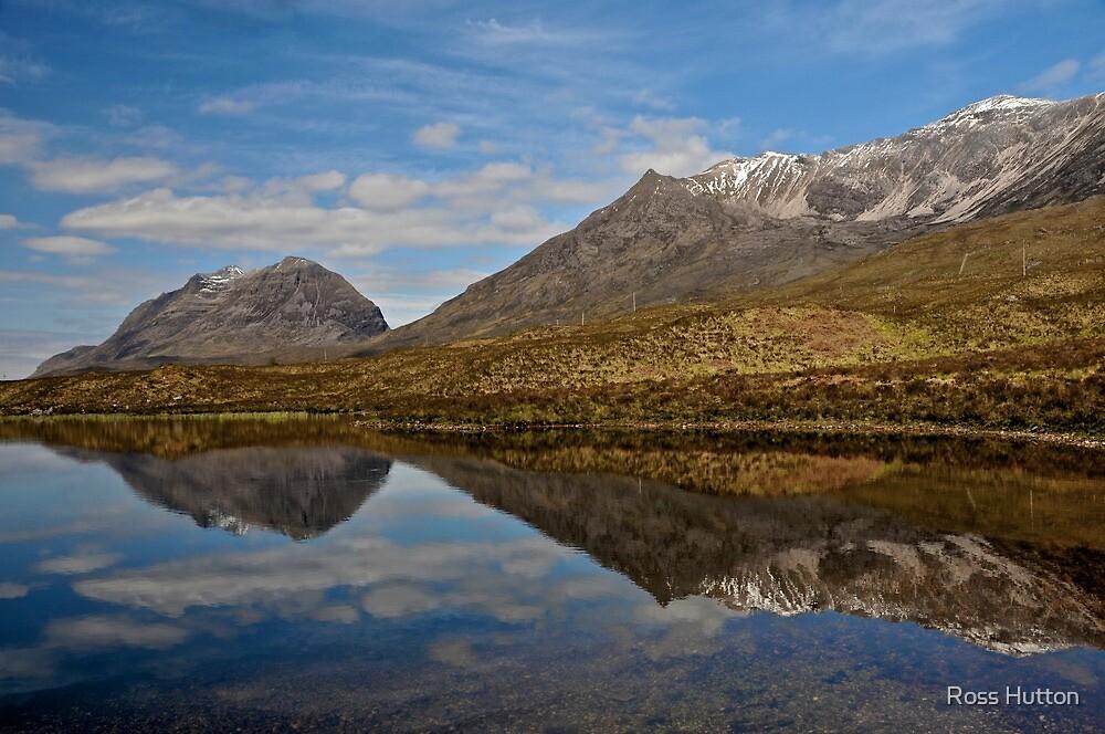 Liatach Mountain, Torridon, Scotland  by Ross Hutton