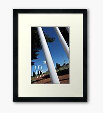 The great Australian game Framed Print