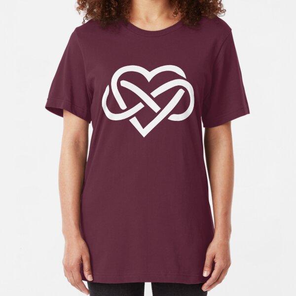 Love is Infinite Slim Fit T-Shirt