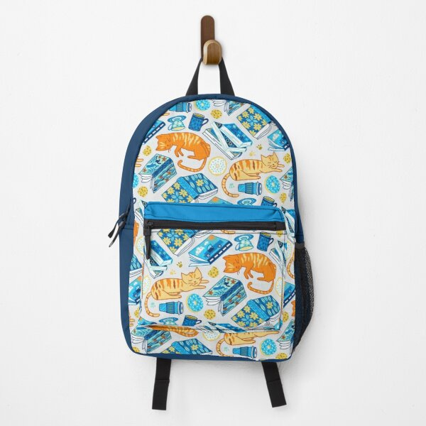 Tea Party Cat-Book Vibes!  Backpack